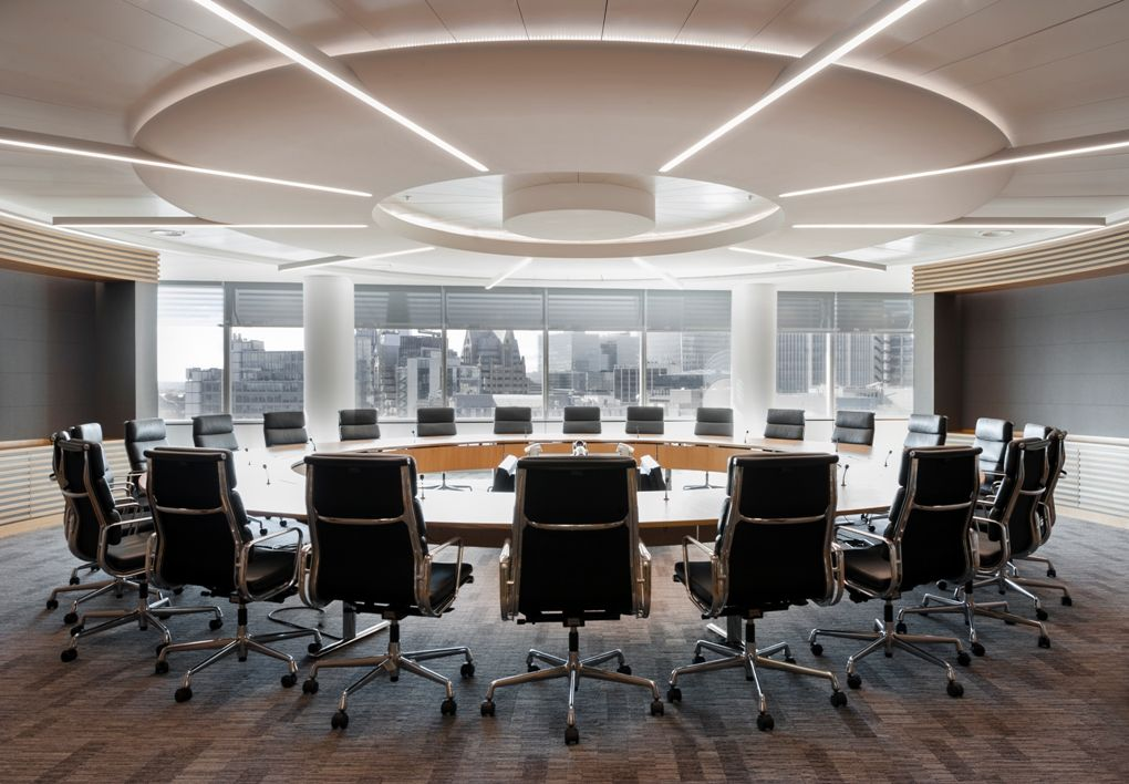 The impressive boardroom in jlt 39 s london office off i for Office design london