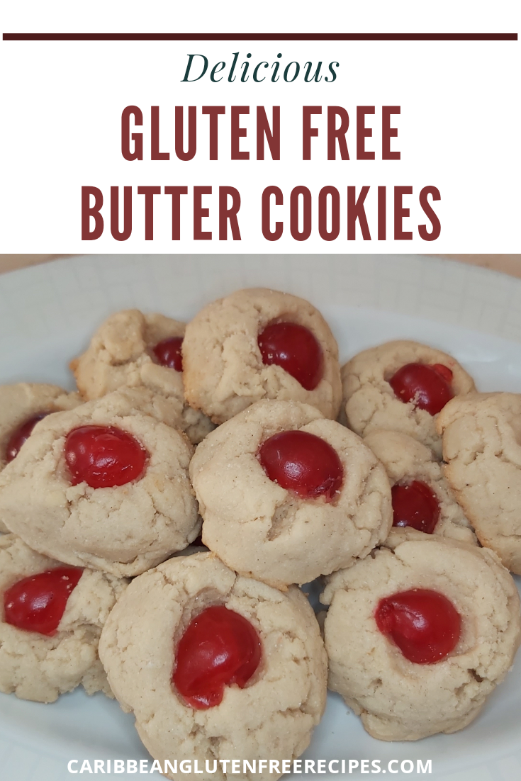 Easy Gluten-Free Butter Cookies are irresistible and delicious. Made with cassava flour, these gluten-free butter cookies are perfect as a sumptuous dessert or at Christmas. #glutenfreebuttercookies #glutenfreedessert #glutenfree #cassavaflourrecipes #cassavaflour