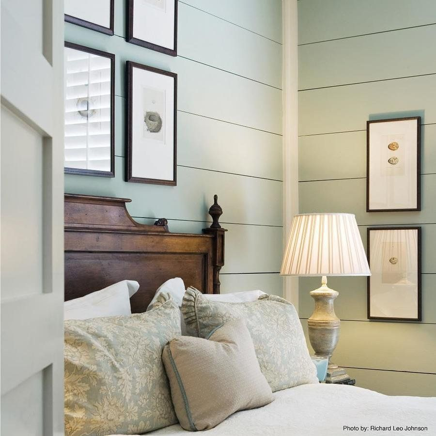 Simple Decorating Ideas To Make Your Room Look Amazing: Easy-to-install Shiplap Panels Create A Cozy, Farmhouse