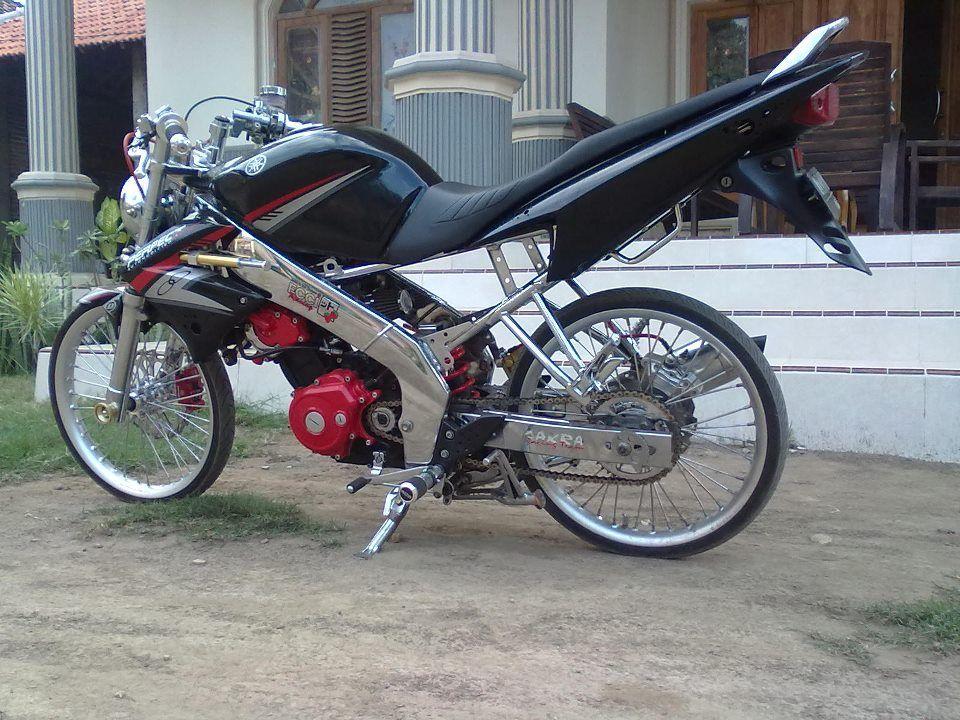 Modif Vixion Jari Jari Modifikasi Motor Pinterest Yamaha Cool