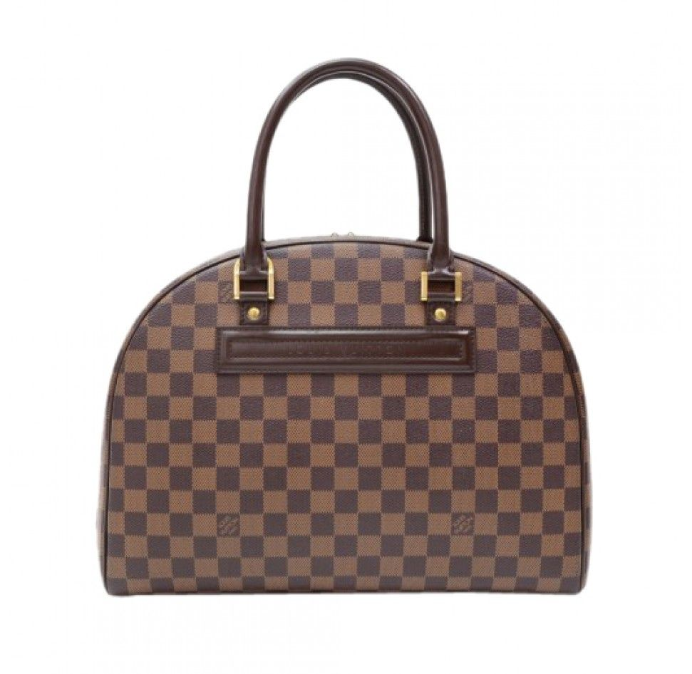 Louis vuitton nolita in damier ebene canvas bling u bags