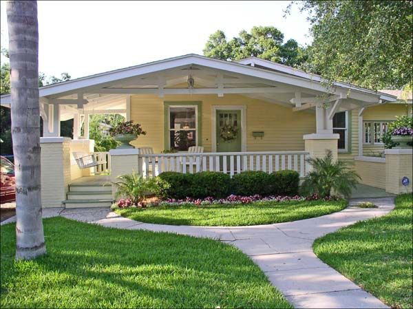 Deep In My Heart February 2010 Bungalow Style House Bungalow Style Small House Design Exterior