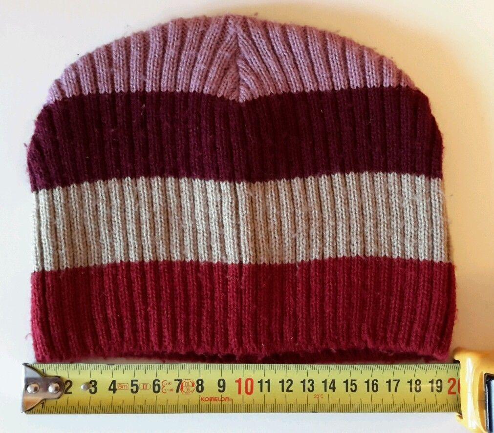H&M Girls Womens Striped Hat size ~ 52-54 cm | eBay
