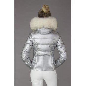 945a78589 Bogner Mabel D   Silver Womens Ski Jacket   Bogner Silver Jacket ...