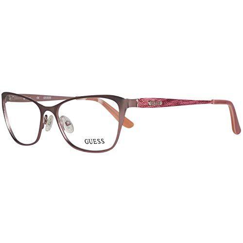 Guess Lunettes de vue pour femme Or GU 2714 028 50 18   lunette de vue guess d45d9f6d5749