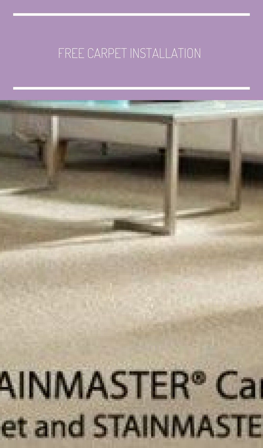 Free Carpet Installation At Lowe S Stainmaster Carpet Pad Review