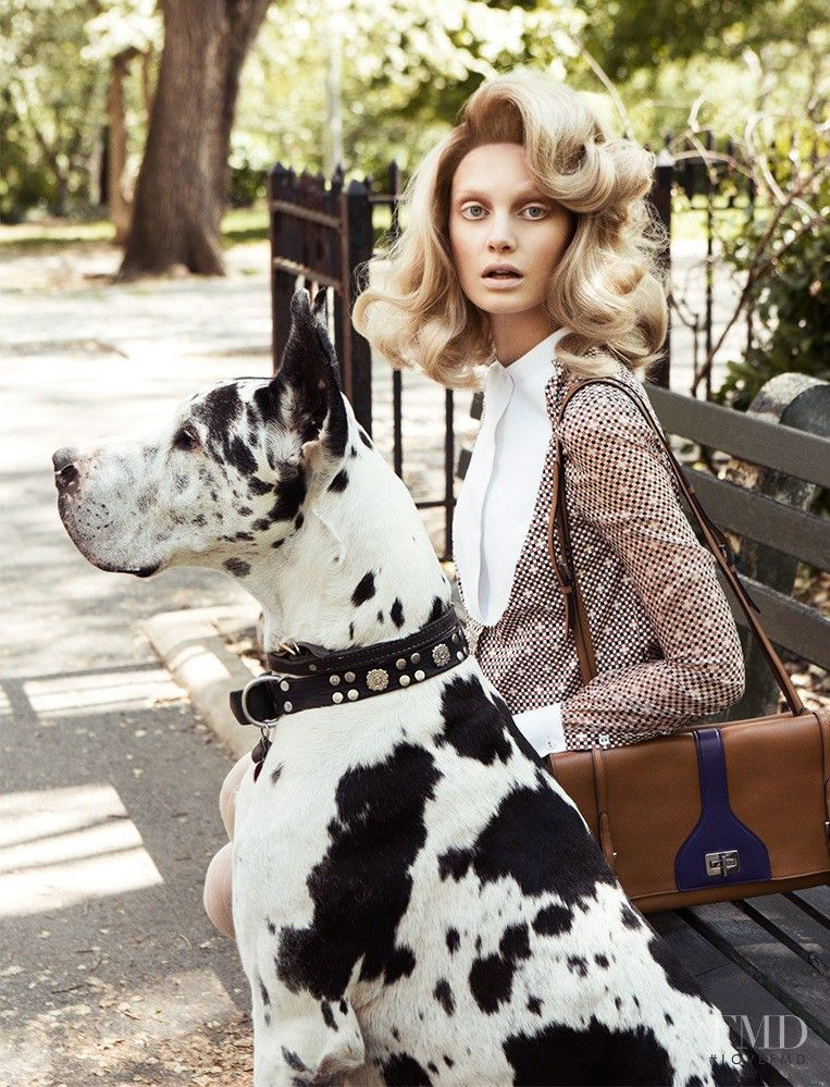 Steffi Soede featured in Dog Days, August 2014 Dog
