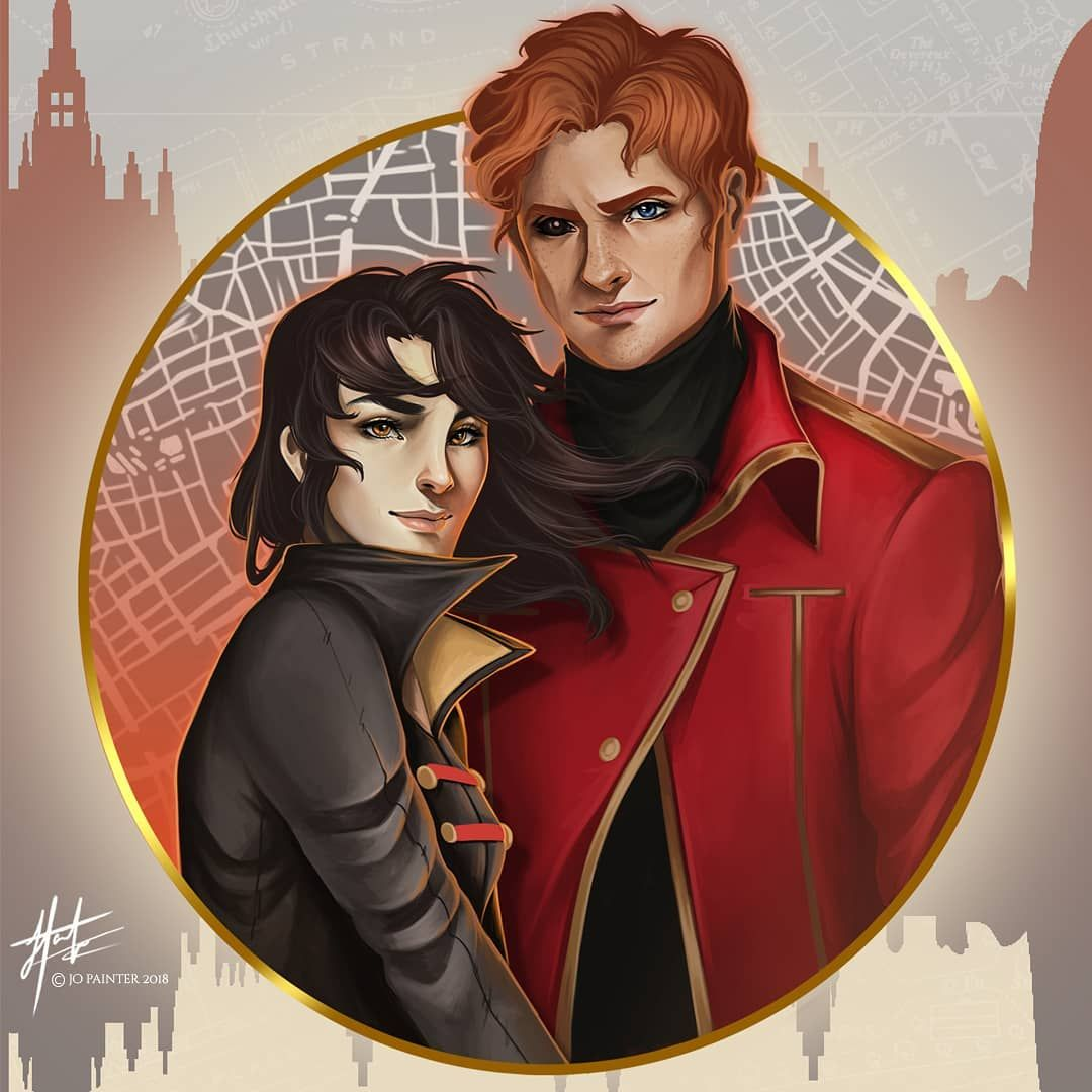 Kell and Lila from A Darker Shade of Magic for @wickandfable ...