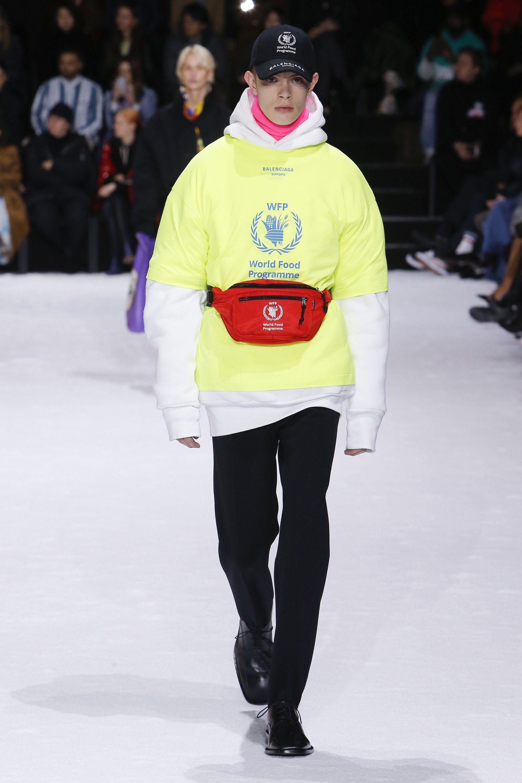 Balenciaga Fall 2018 Ready-to-Wear Fashion Show Collection