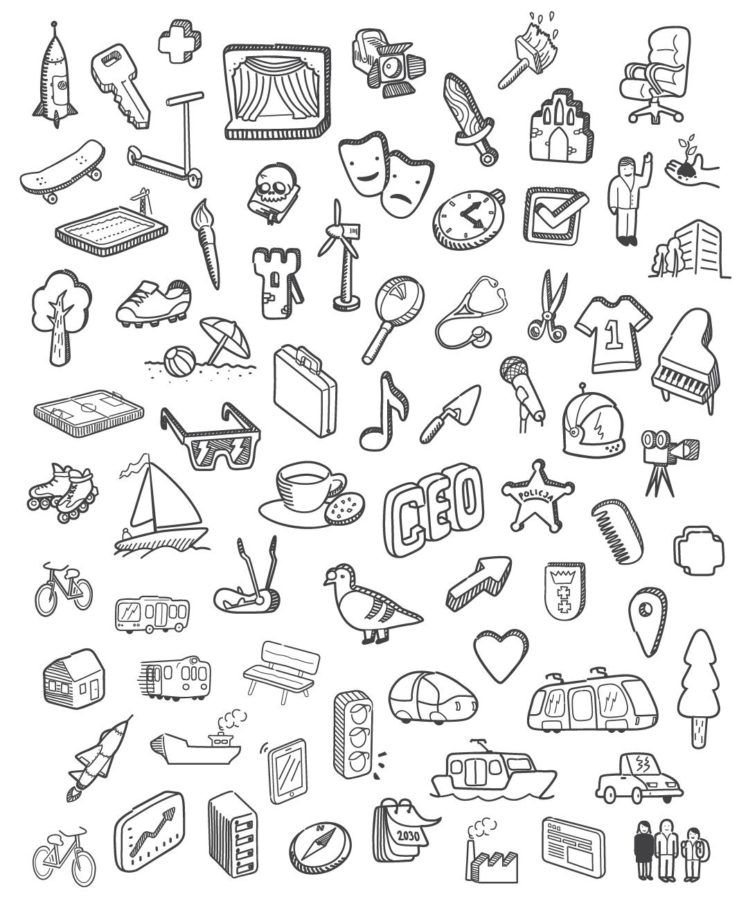 Gdansk 2030 Plus Doodle Art Doodle Art Journals Doodle Art For Beginners
