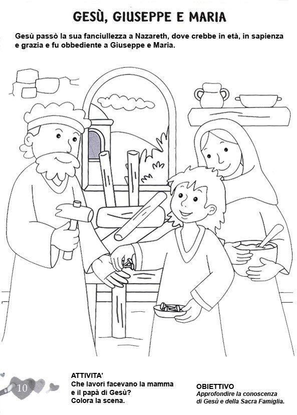 Stampa e colora scuola bible crafts sunday school e - Artigianato per cristiani ...