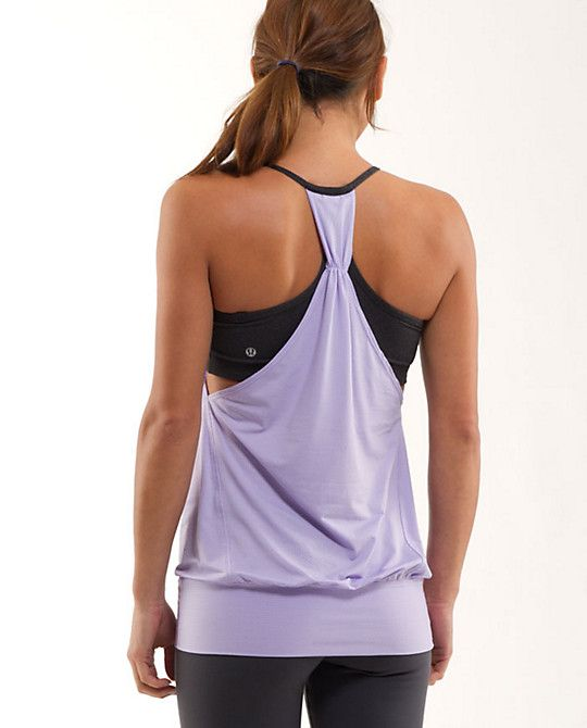 6074fdcd8e4a88 No Limit Tank from lululemon.com... totally getting one!