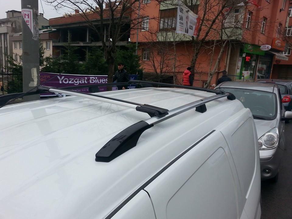 VAUXHALL VIVARO 2001-2014 LOCKABLE ROOF RAIL BARS RACK CROSS BARS GREY LWB