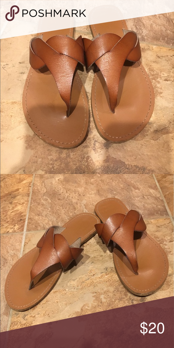 Boutique sandals. Like new. Size 6.5 These sandals are in mint condition, I just have high arches so I can't wear them. Worn twice. Size 6.5. Cute!! Shoes Sandals