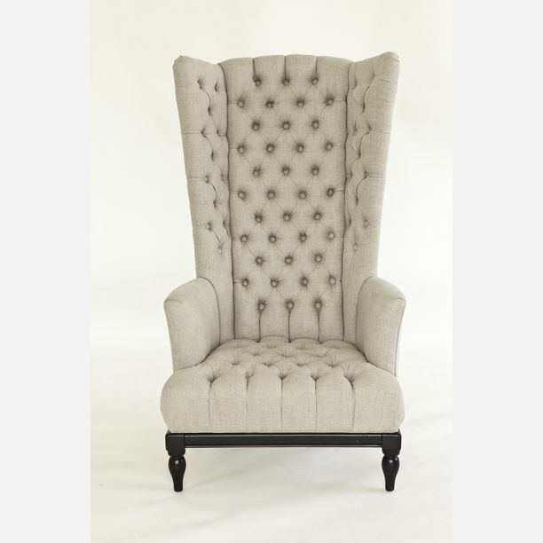 Merveilleux High Back Tufted Chair Design Inspiration On Fab.
