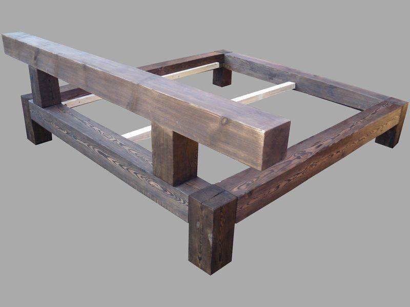Bauholz Bett Holzbetten Bett Selber Bauen Mobel Aus Paletten