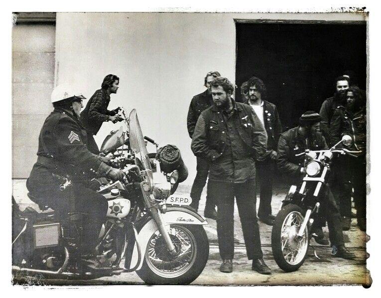 1970 San Francisco Gypsy Jokers Motorcycle Club