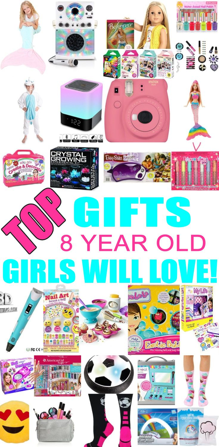 Top Gifts For 8 Year Old Girls Best Gift Suggestions Presents Eighth Birthday Or Christmas Find The Ideas A 8th Bday