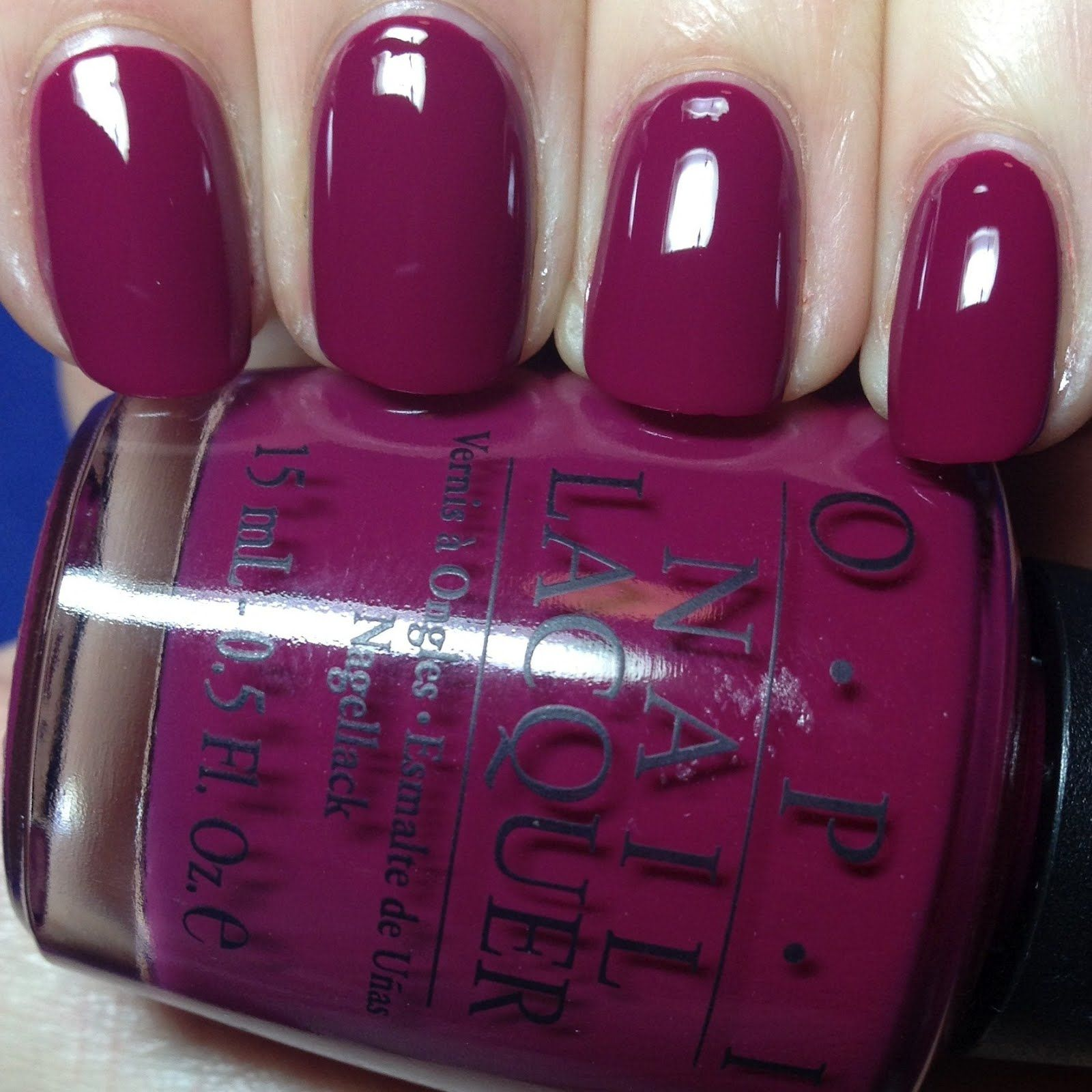 OPI Miami Beet - my new favorite color...love, love, love! | My ...