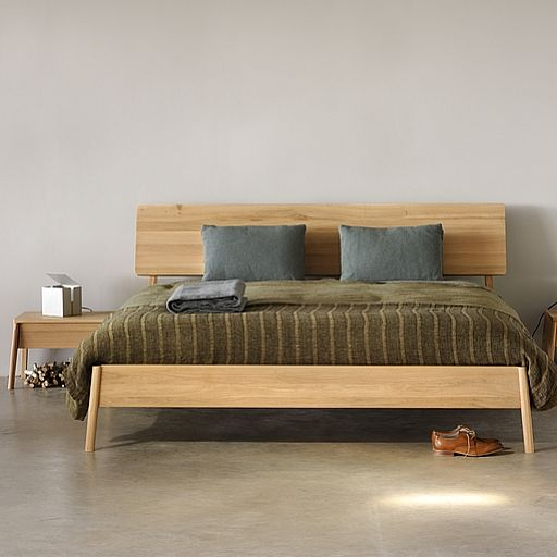 Air Bed Oak Bed Frame Wooden Bedroom Furniture Oak Beds