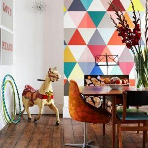 Le papier peint géométrique ou une tapisserie simple? Comment choisir?