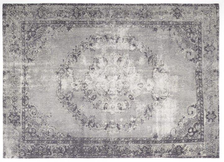 vintage orient teppich grau medaillon teppich grau. Black Bedroom Furniture Sets. Home Design Ideas