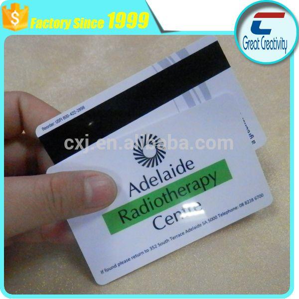 Custom Printing Membership CardCustom Credit Cards Size Pvc
