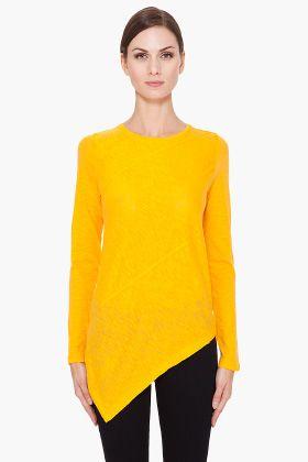 PROENZA SCHOULER //  Spiral T-Shirt  100% cotton  $325.00 USD