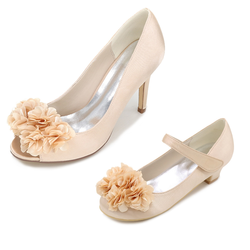 6900 watch now httpaliyd8wellsgopt32782731500 cheap shoes with flowers buy quality peep toe directly from china party dress shoes suppliers creativesugar flower petal open peep toe bridal wedding izmirmasajfo Images
