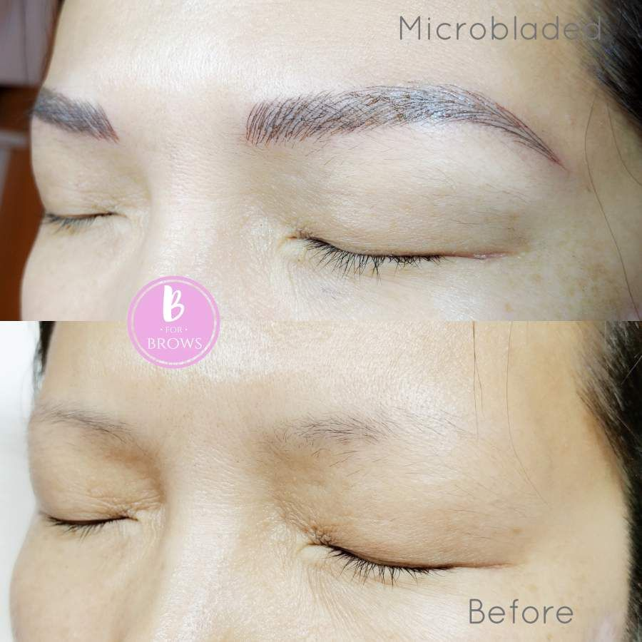 Microblading Vancouver By B For Brows Microblading Microblading Eyebrows Blonde Eyebrows