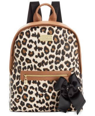 2194b4551d Betsey Johnson Macy s Exclusive Leopard Backpack