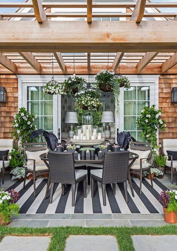 hamptons 20 best patio spaces via a blissful nest