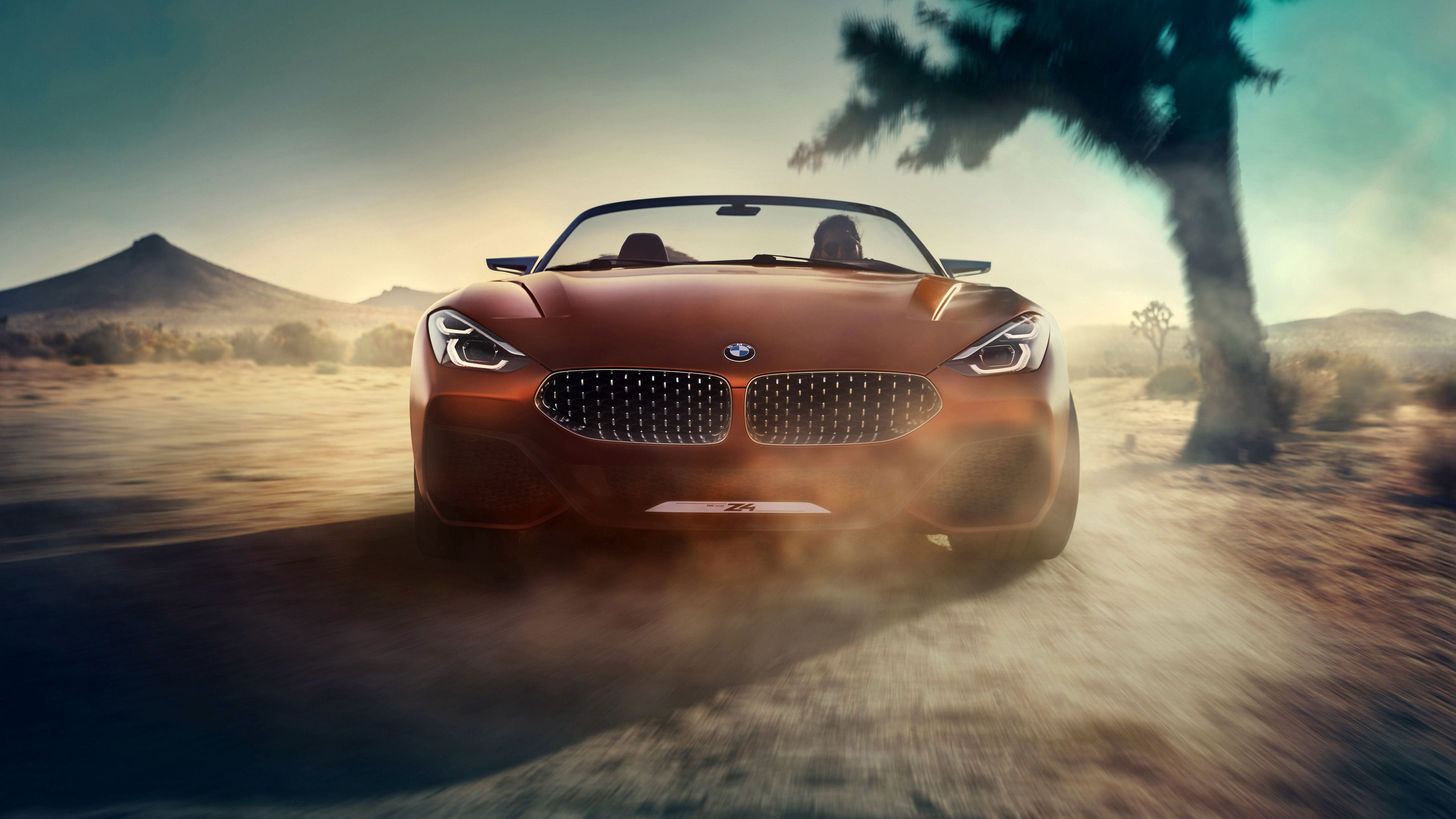Bmw Concept Z4 4k Front Hd Wallpapers Concept Cars