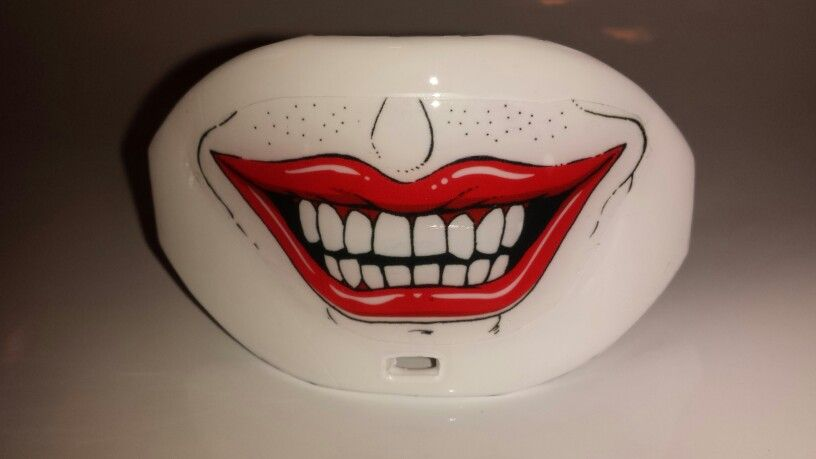 Custom joker mouthguard by megalodon sports with images