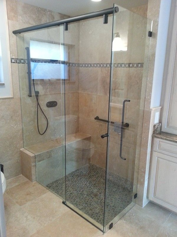 Sliding Shower Doors Bench Home Decor Bed Bath In