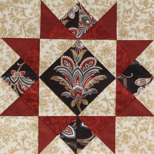 American Patchwork & Quilting Mystery Quilt   AllPeopleQuilt.com