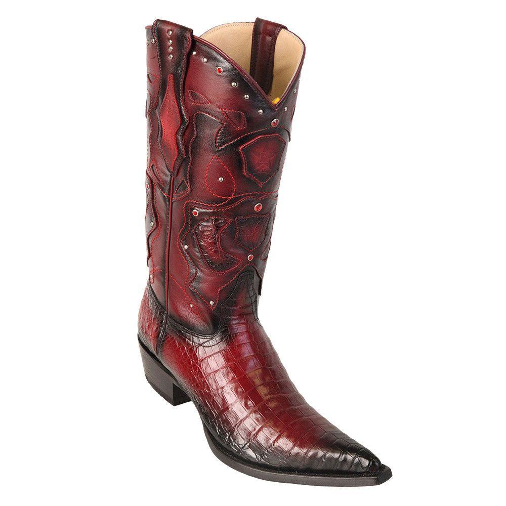 1d17a0eeda5 Los Altos Men's Pointed Toe Caiman Belly Cowboy Boots in 2019 ...