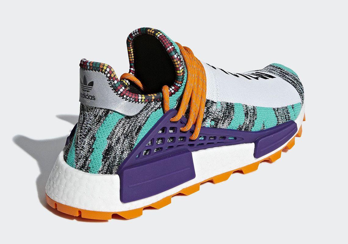 50d5ee00befd1 Pharrell adidas NMD Hu Solar Pack Release Date