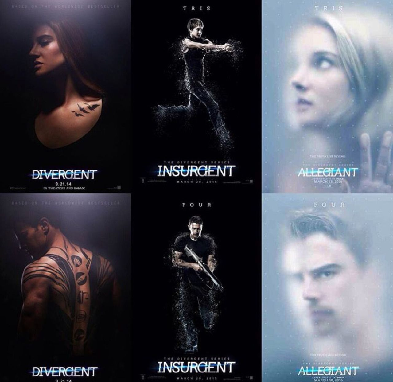 ALLEGIANT TRAILER IS OUT TOBIAS LOOKS SO HOT! | Divergent ...
