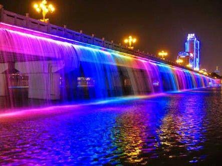 Ponte Banpo - Seul, Coreia do Sul