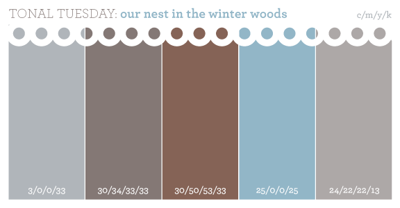 Teal Brown And Gray Color Palette