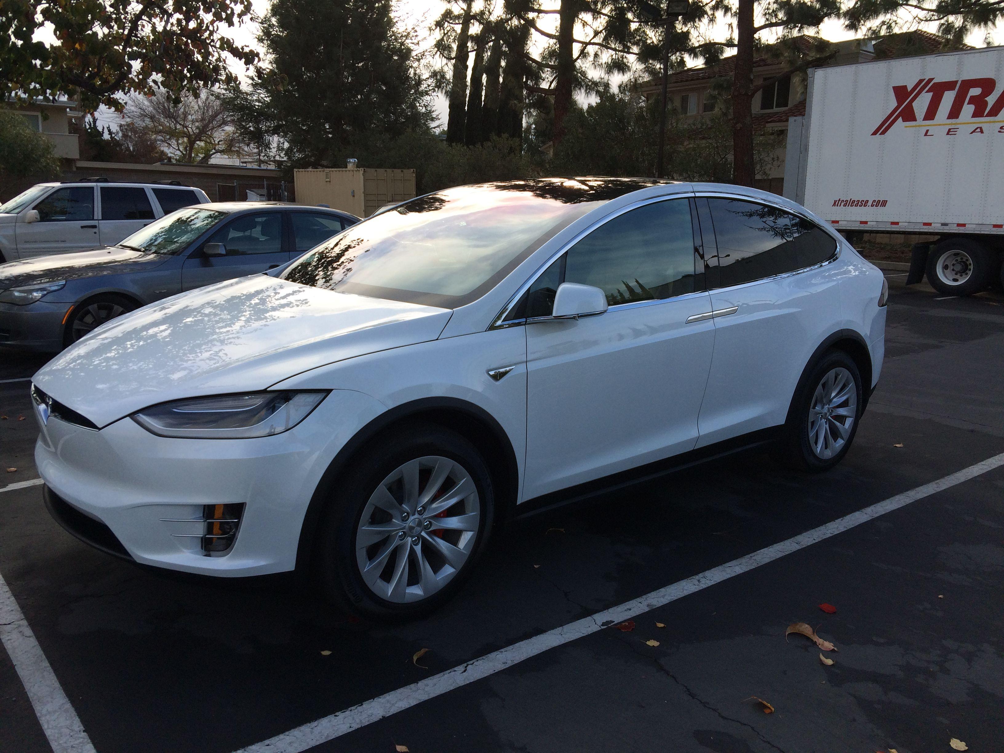 Pearl White Exterior Model X Photos Tesla Motors Pinterest