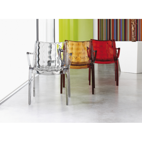 Sedie sala attesa impilabili modello Scab Design. Sedie eleganti ...