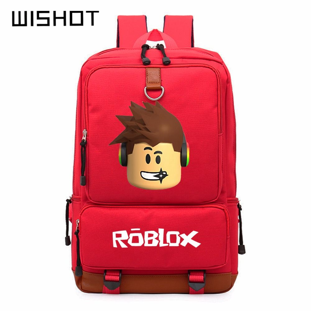 61b8f31cdc38 WISHOT Roblox game casual backpack for teenagers Kids Boys Children Student  School Bags travel Shoulder Bag Unisex Laptop Bags   Price   26.40   FREE  ...