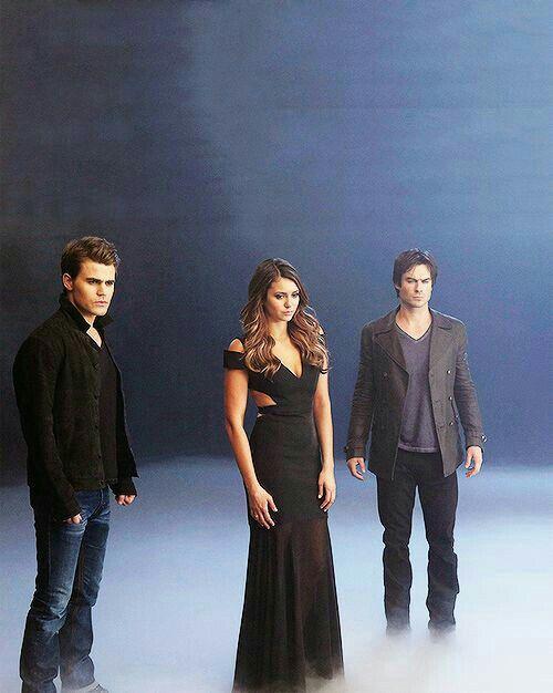 Stefan// Elena// Damon