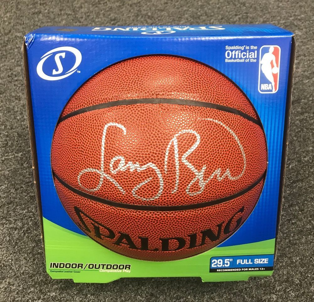 best loved 2c05e 465e3 Larry Bird Signed Full Size Basketball Autographed Beckett ...