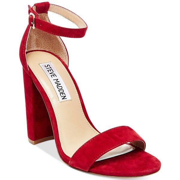d11a9b87397 Steve Madden Women's Carrson Ankle-Strap Dress Sandals ($99 ...