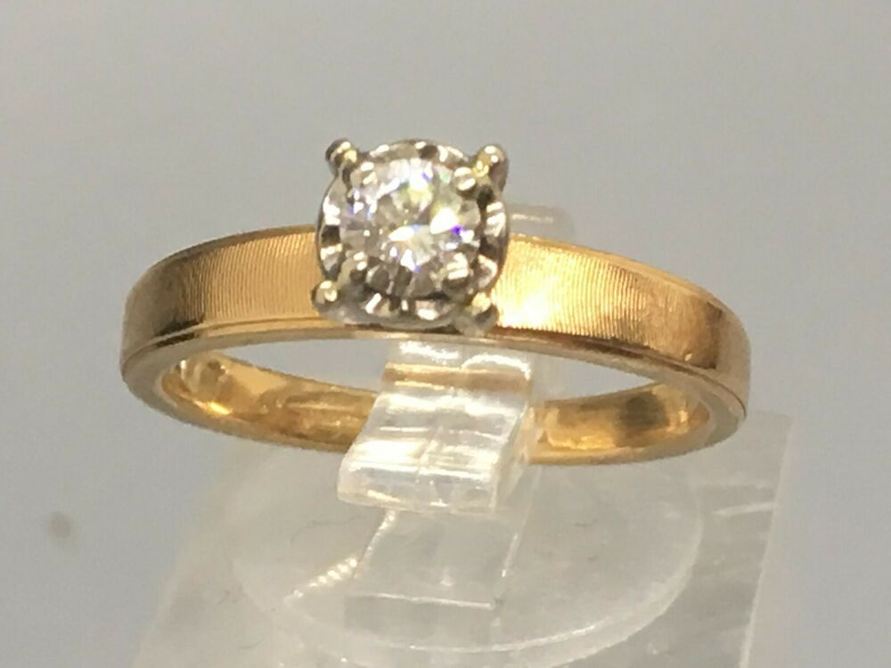 Beautiful Size 5 14k Gold And 1 5 Carat Solitaire Diamond Ring Solit Diamond Bridal Ring Sets Gold Solitaire Engagement Ring Diamond Solitaire Engagement Ring