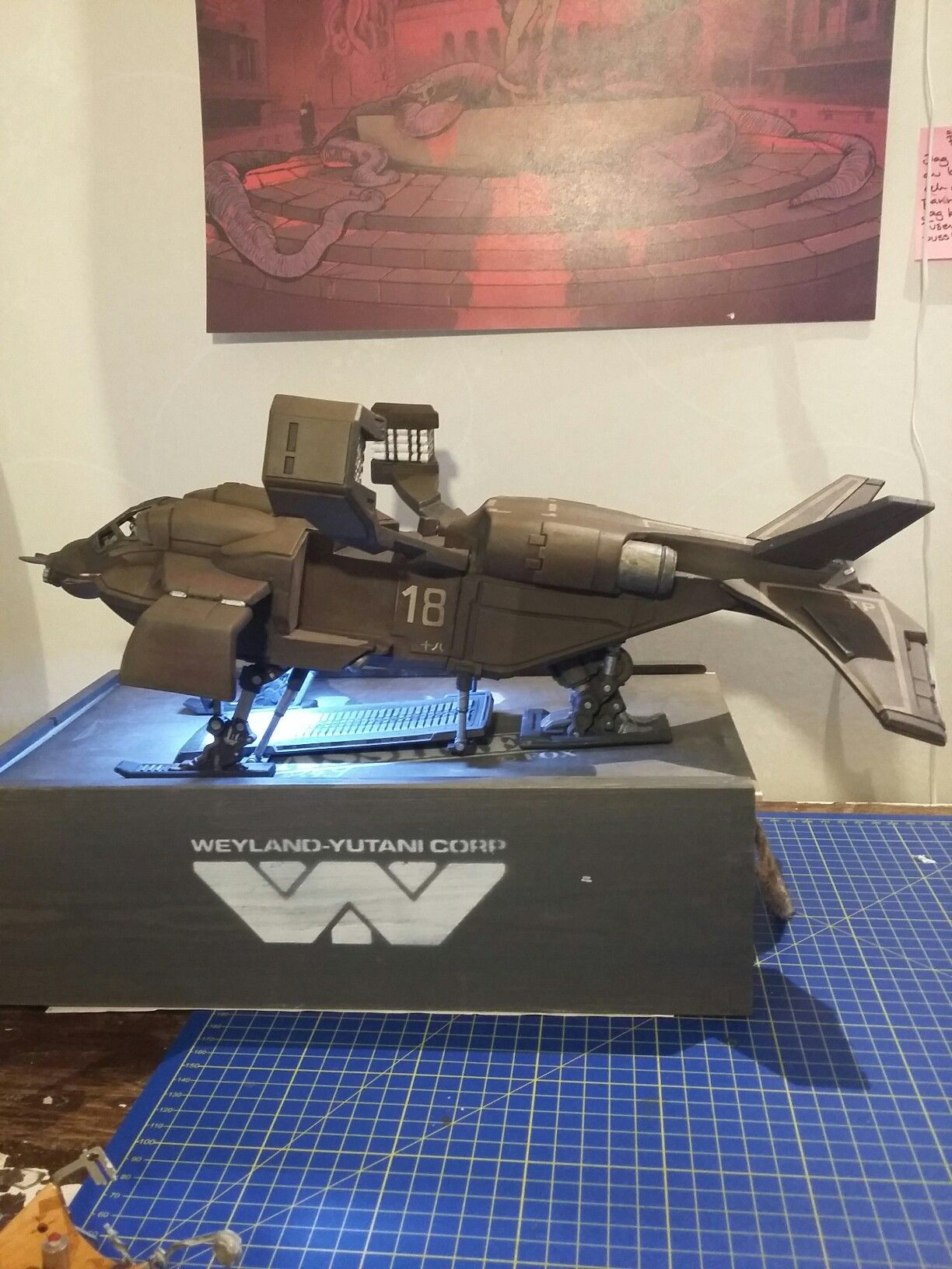 Ud4 Dropship Model By Prodos Games Sf Movies Alien Vs