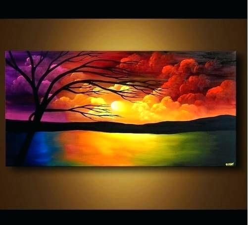 Best 25 Purple Canvas Art Ideas On Pinterest: Image Result For Easy Canvas Paintings For Beginners Step